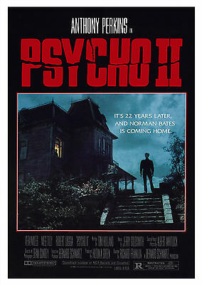 Psycho 2 - A1/A2 Poster **BUY ANY 2 AND GET 1 FREE OFFER**