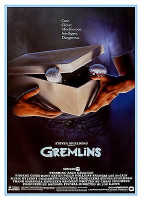 Gremlins (1984) - A1/A2 Poster **BUY ANY 2 AND GET 1 FREE OFFER**