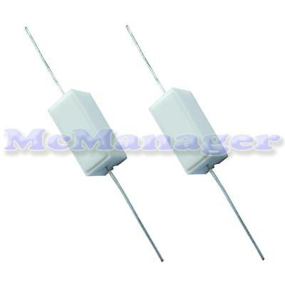 0.1-100K ohm Various Value Resistors In 5W Power 5%   SQP Type