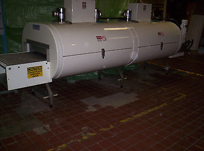 "Refurbished Cryogenic freezer, 2 module 1 tier, Nitrogen/CO2 Tunnel 30"" belt"