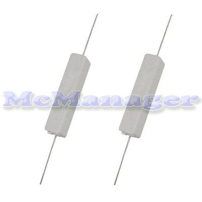 0.1-100R ohm Various Value Resistors In 10W Power 5%   SQP Type