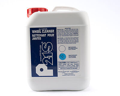 P21S All Natural GEL Alloy Wheel Cleaner - 5 Liter Refill Container -