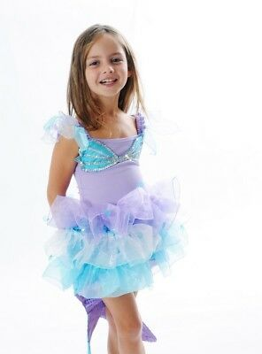 NEW Fairy Girls Sparkle Mermaid Dress Up - Blue (Size Large - suits 6-8yrs)
