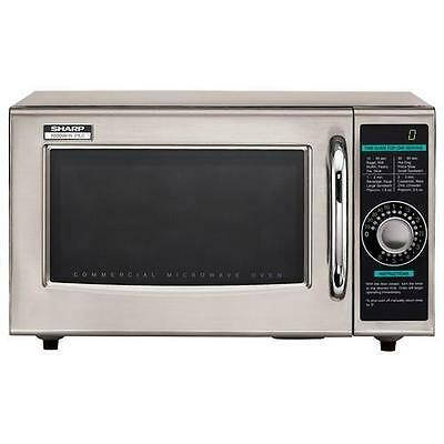 Sharp - R-21LCF - 1000 Watt Commercial Microwave Oven