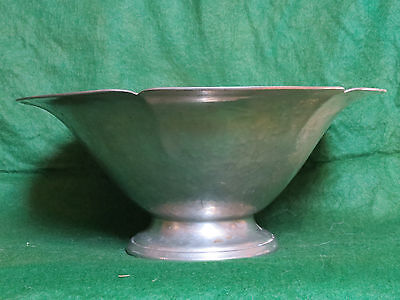 Porter Blanchard Footed Pewter Bowl # 29