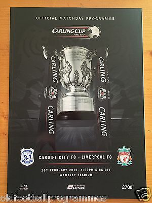 2012 Carling Cup Final *(Liverpool V Cardiff)* (26/02/2012)