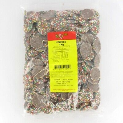 Chocolate Freckles (Jewels) 1kg Pk 1