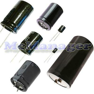 Range of Radial  Electrolytic Capacitors 22uF-10000uF  16V-450V 105C
