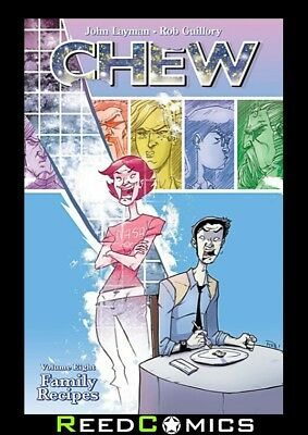 CHEW VOLUME 8 FAMILY RECIPES GRAPHIC NOVEL New Paperback Collects Issues #36-40