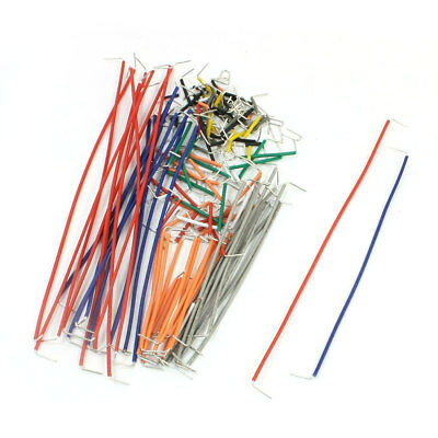 Colored Circuit Texting Solderless Breadboard Jumper Cables Wires 140Pcs