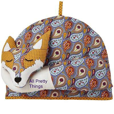 FOX Shaped Tea Cosy ULSTER WEAVERS BNWT- Large 35 x 27 cm - Post W/wide - 7FOX04