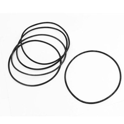 5pcs Flexible Rubber O Ring Seal Washer Replacement Black 150mm x 4mm
