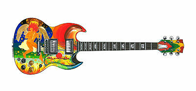 Eric Clapton's Gibson SG Fool Greeting Card, DL size