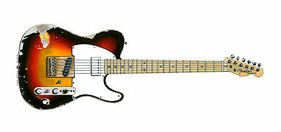 Andy Summers' Fender Telecaster Greeting Card, DL size