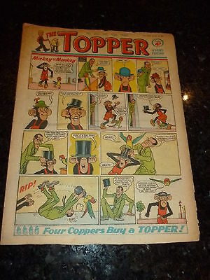 THE TOPPER Comic - Issue No 410 - Date 10/12/1960 - UK Paper Comic