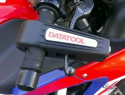 New Datatool Black Croc-Lock Motorcycle Scooter Handlebar Throttle Grip Security