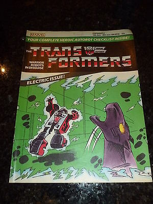 The TRANSFORMERS Comic - No 20 - Date 15/06/1985 - UK Marvel Paper Comic