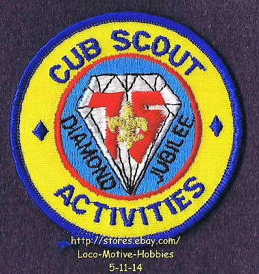 CUB SCOUT BADGE patch collectible discontinued camping activities