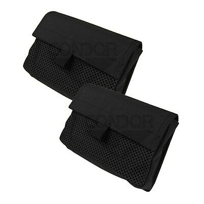 Condor VA8 Mesh Insert Utility Pouch w/ Hook Backing for Loop Surface Black
