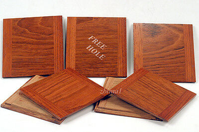 "1 Wooden Lens Board  4"" x 4"" for Deardorff  5"" x 7"" Solid Jatoba,  Free hole"