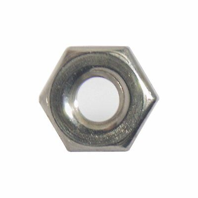 4-40 Machine Screw Hex Nuts Stainless Steel 18-8 Qty 100
