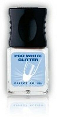(89,50€/100ml)alessandro PRO WHITE - GLITTER%%%SALE%%%  10 ml*NEU & OVP*