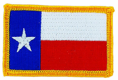 Flag Patch Patches Texas Iron On Embroidered United States Usa State