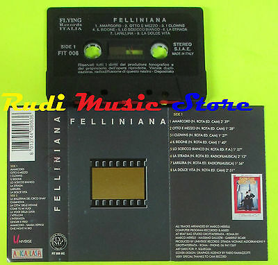 MC FELLINIANA made in italy FLYING FIT 006 MC (*)cd lp dvd vhs