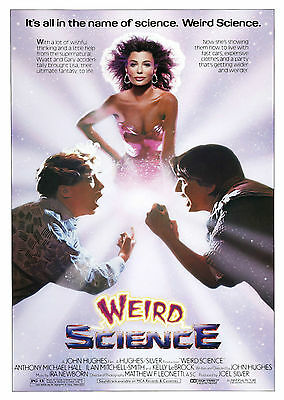 Weird Science - A1/A2 Poster **BUY ANY 2 AND GET 1 FREE OFFER**