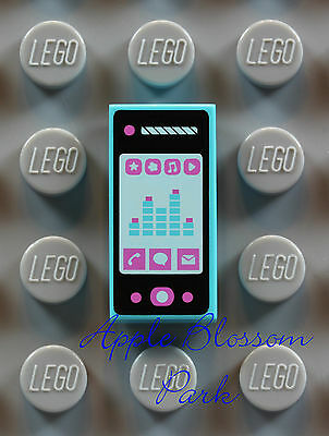 Cell Smartphone Cordless City Friends Scala Vintage RARE LEGO Minifig PHONE LOT