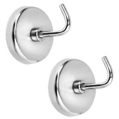 "NEW IIT 2 PIECE HEAVY DUTY 1/2"" MAGNETIC HOOKS 8lb Capacity Kitchen Refrigerator"