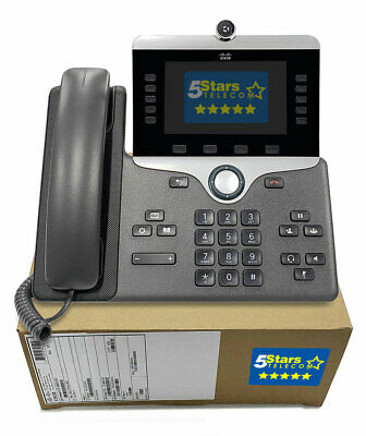 Cisco 8865 IP VolP Phone Telephone Gigabit (CP-8865-K9) - NEW