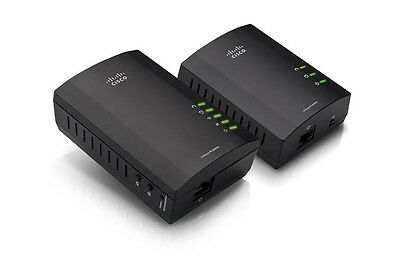 Linksys PLWK400-NP PLWK400 Powerline AV Wireless Network Extender Kit - 200 Mbps