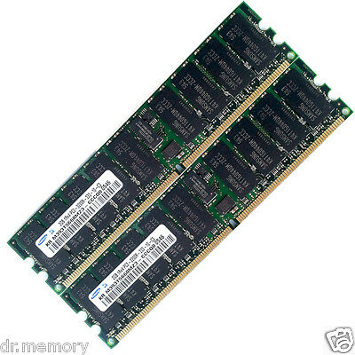 4GB (2x2GB) ECC RDIMM Memory Ram Upgrade for the HP XW6200 Workstation Server