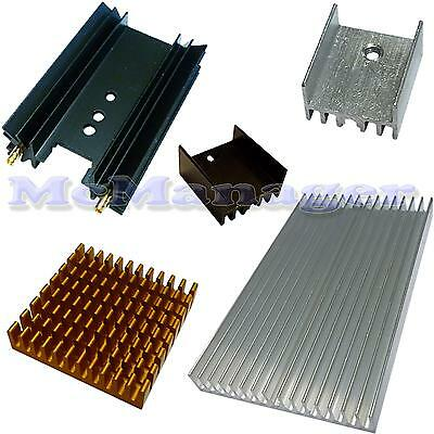 Small Heat Sink For  Power Transistor/MOSFET/IC TO-3/TO-126/TO-220/TO-247..