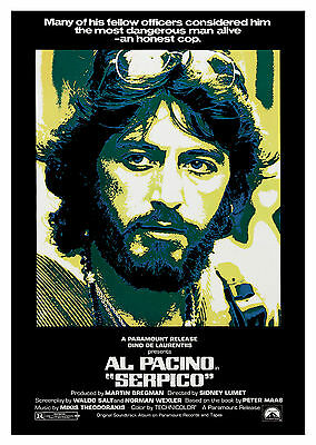 Serpico (1973) - A1/A2 Poster **BUY ANY 2 AND GET 1 FREE OFFER**