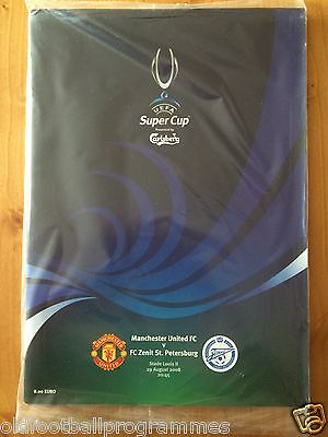 2008 Super Cup Final *(Manchester United V Fc Zenit St Petersburg)* (29/08/2008)