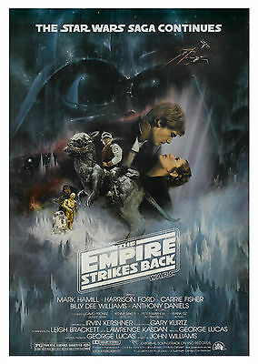 Star Wars: The Empire Strikes Back (1980) V2 - A1/A2 Poster **SEE OFFER**