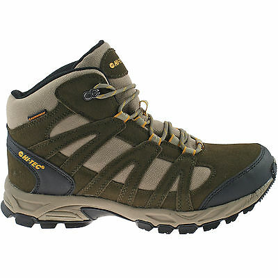 991a2941b7c MENS HI-TEC WATERPROOF Hiking Boots Size Uk 7 - 13 Walking Suede ...