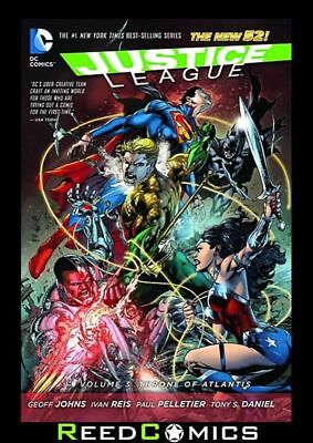 JUSTICE LEAGUE VOLUME 3 THRONE OF ATLANTIS GRAPHIC NOVEL New Paperback 13-17