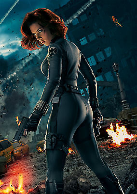 The Avengers Black Widow (2012) V5 - A1/A2 Poster BUY ANY 2 AND GET 1 FREE OFFER