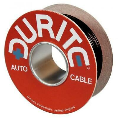 Durite Red/Black Flat Twin Core Wire Cable 2 x 2mm² x 30m 17.5 Amp - 0-953-00