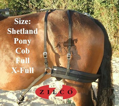 Carriage Driving Harness Breeching Set Zilco Tedex Shetland Pony Cob Full