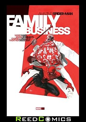 AMAZING SPIDER-MAN FAMILY BUSINESS HARDCOVER GRAPHIC NOVEL New Hardback