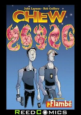 CHEW VOLUME 4 FLAMBE GRAPHIC NOVEL New Paperback Collects Issues #16-20