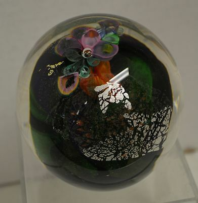 Berry Davis Modern Art Glass Paperweight