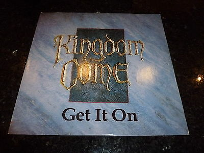 "KINGDOM COME - Get it on - 1988 UK 2-track 12"" vinyl single"
