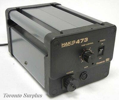 Tested And Working Hakko 473 Desoldering Tool Station Power Supply.