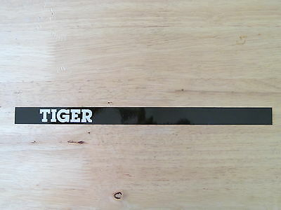 Leyland Tiger Bus Coach Vinyl Strip Name Type Bonnet Grill Badge Decal Sticker