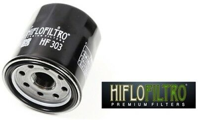 Hiflofiltro Oil Filters HF303 14-0303 550-0303 Black Spin-On HF303 314-0303